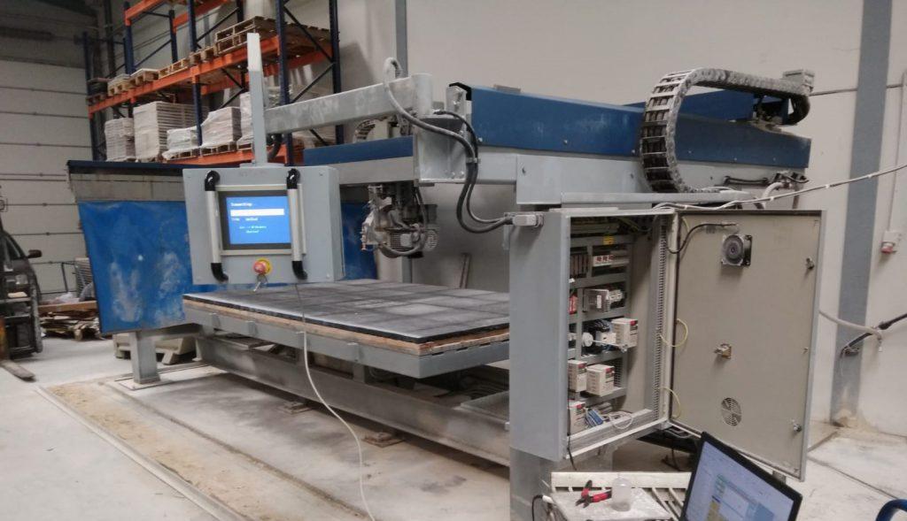 Reparar Pantalla tactil de Maquina con Automata en Malaga